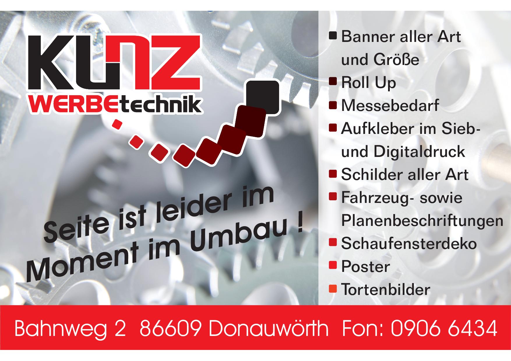 Werbetechnik Kunz