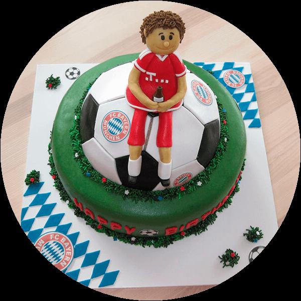 FC-Bayern-Fan-Torte