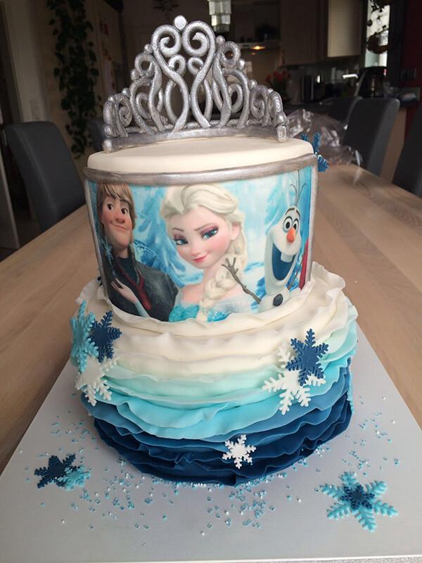Eisprinzessin-Torte
