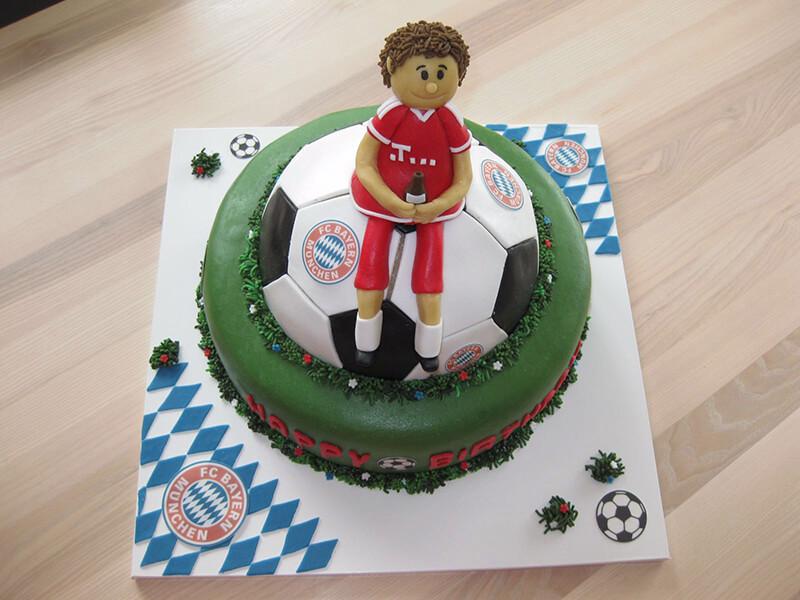 FC Bayern München Torte mit Logo