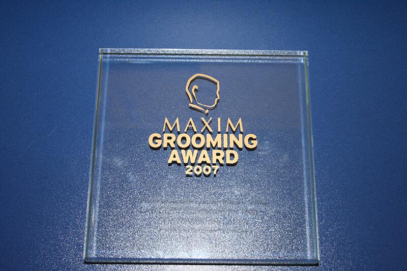 Maxim Groowing Award